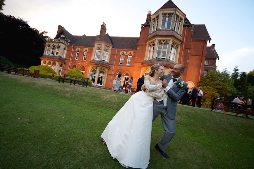 wedding photographers highbury Hall